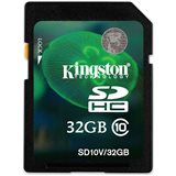Kingston SDHC 32GB SD Card Class 10
