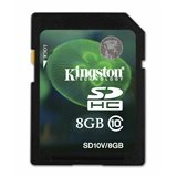 Kingston SDHC 8GB SD Card Class 10