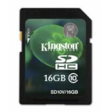 Kingston SDHC 16GB SD Card Class 10