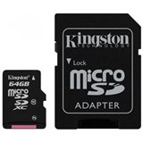Kingston SDHC 64GB SD Card Class 10
