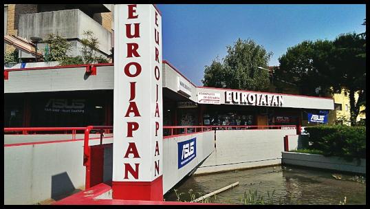 Eurojapan totem ingresso